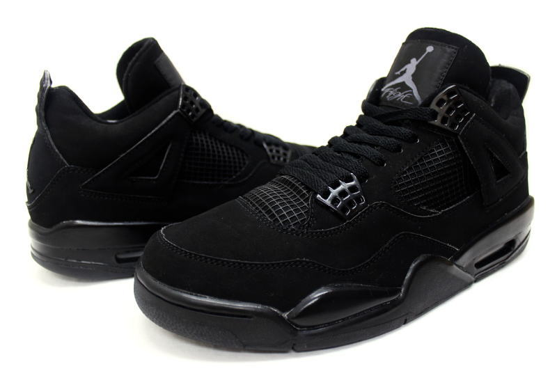 more photos 56e83 03e18 NIKE AIR JORDAN 4 RETRO BLACK CAT 308497-002 Nike Air Jordan 4 retro black  cat