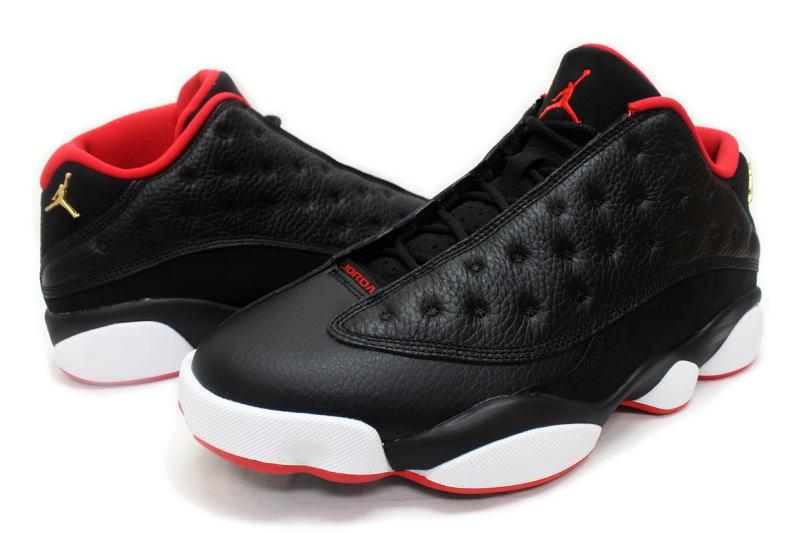 hot sale online d38c0 fbaa6 ... NIKE AIR JORDAN 13 RETRO LOW BRED 310810-027 Nike Air Jordan 13 retro  low ...
