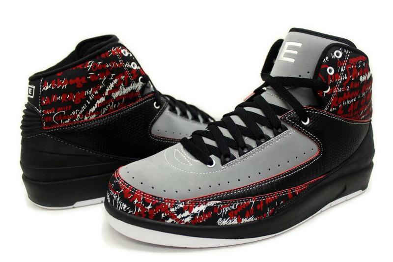 NIKE AIR JORDAN 2 RETRO EMINEM THE WAY I AM 308308-002 Nike Air Jordan 2 retro Eminem
