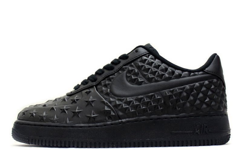 new concept eb1da dd255 NIKE AIR FORCE 1 LV8 VT INDEPENDENCE DAY BLACK 789104-001 Nike air force one  ...