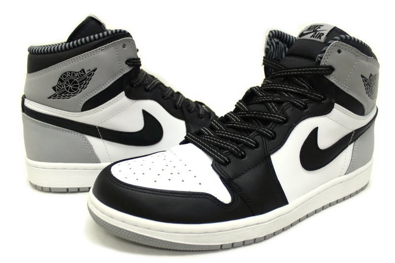 aec4da73415c NIKE AIR JORDAN 1 RETRO HIGH OG BARONS 555088-104 Nike Air Jordan 1 retro  high barons Wolf grey