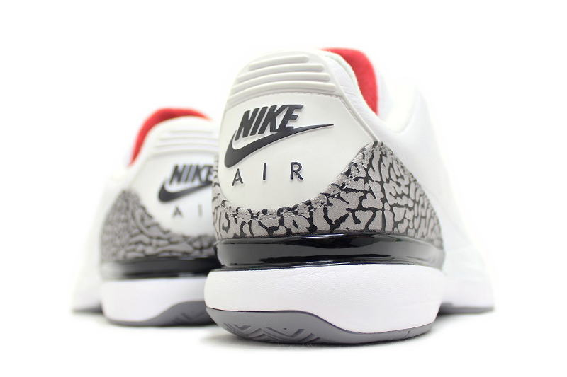 c20fd2df ... NIKE ZOOM VAPOR AJ3 WHITE CEMENT 709998-160 Nike zoom Vesper Air Jordan  3 white ...