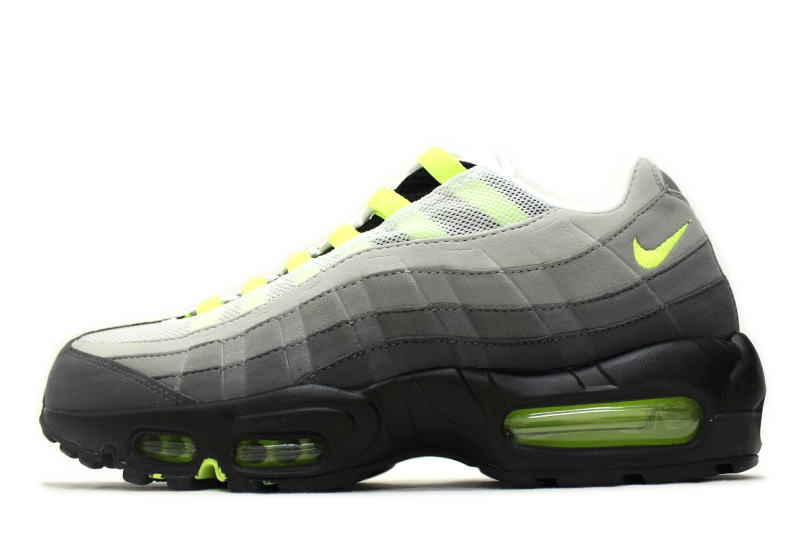 finest selection 617ad 8d3ce NIKE AIR MAX 95 OG yellow grade 2015 554970-071 Nike Air Max 95 VOLT NEON  YELLOW