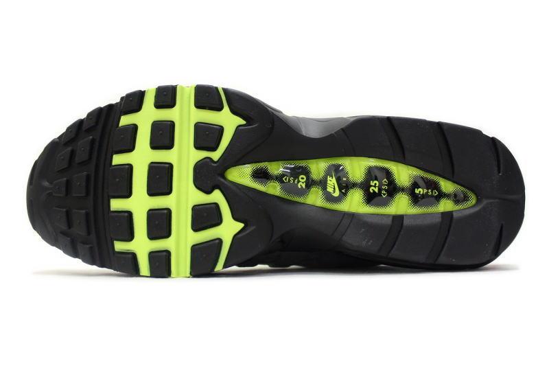 NIKE AIR MAX 95 OG yellow grade 2015 554970-071 Nike Air Max 95 VOLT NEON  YELLOW e48d50bcf