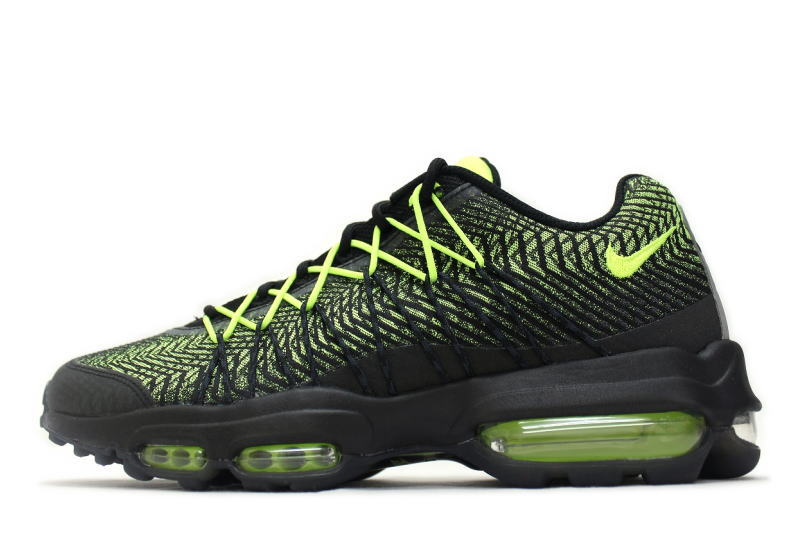 nike air max 95 ultra jacquard black volt nz