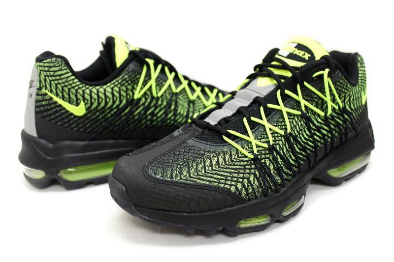 9472a827030 NIKE AIR MAX 95 ULTRA JCRD VOLT 749771-007 Nike Air Max 95 ultra Jacquard  bolt