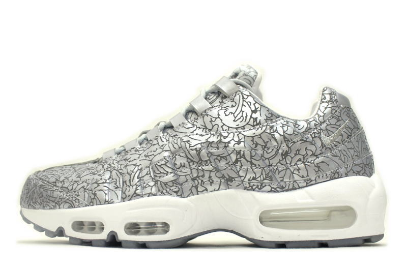 separation shoes e1331 e863d NIKE AIR MAX 95 ANNIVERSARY QS PURE PLATINUM 818721-001 Nike Air Max 95  anniversary ...