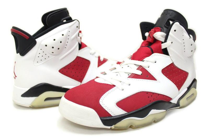 NIKE JORDAN COLLEZIONE 17 / 6 CARMINE separately 322719 − 161 Nike Air Jordan  6 Carmine countdown Pack selling