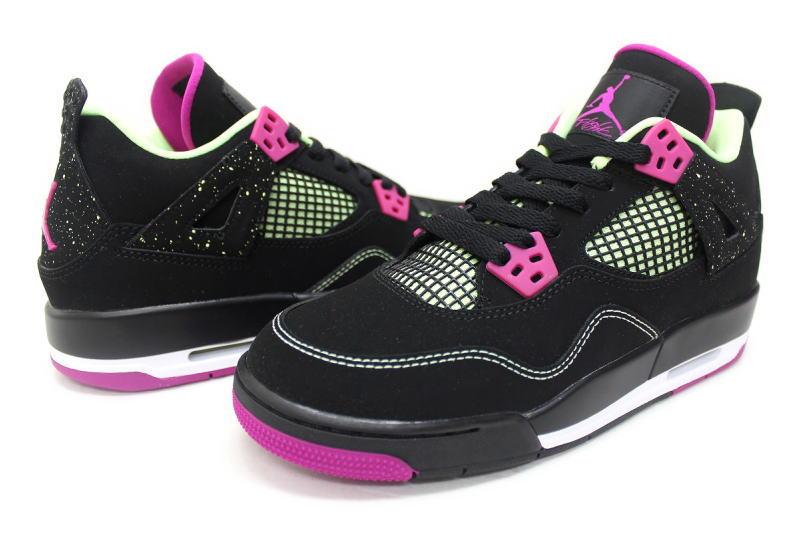 6c25aa2cd57a NIKE AIR JORDAN 4 RETRO 30TH GG FUCHSIA 705344-027 Nike Air Jordan 4 retro  pink GS women s international limited