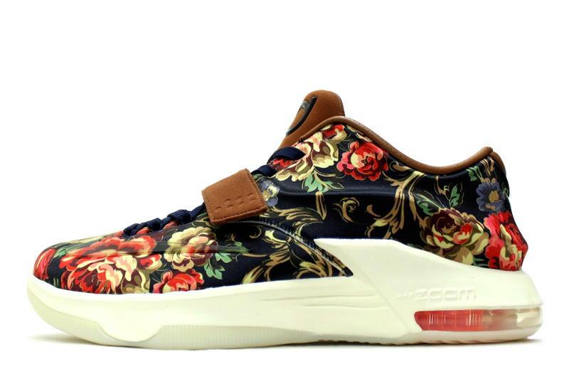 size 40 af514 97246 NIKE KD 7 EXT QS FLORAL 726438-400 Nike KD 7 floral Kevin Durant