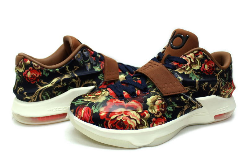 size 40 43bc4 7ef17 NIKE KD 7 EXT QS FLORAL 726438-400 Nike KD 7 floral Kevin Durant