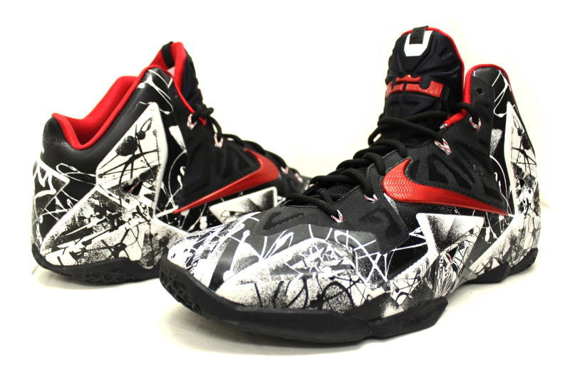 NIKE LEBRON XI GRAFFITI 616175-100 Nike LeBron 11 graffiti 402b30d58