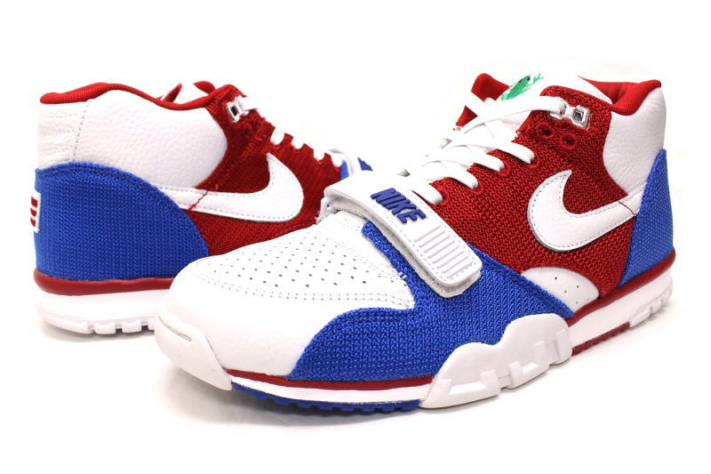online store 18dc0 ff193 NIKE AIR TRAINER 1 MID PRM QS PUERTO RICO 607,081-102 Nike air trainer 1  mid premium quick strike Puerto Rico