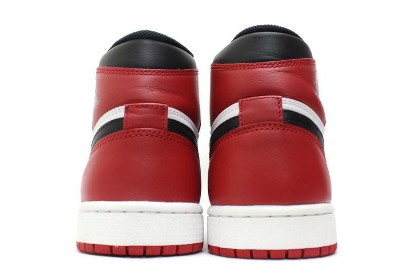 the best attitude 07ca2 91316 ... NIKE AIR JORDAN 1 RETRO HIGH OG BLACK TOE 555088-184 Nike Air Jordan 1  ...