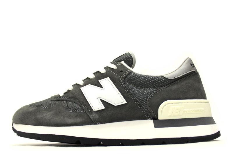 best sneakers 866af d4f7e new balance M990 GRY GRAY MADE IN U. S. A. World 990 feet limited 990's  30th anniversary commemorative new balance grey made in USA