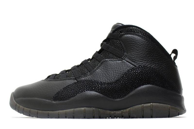 61e426ad8bf NIKE AIR JORDAN 10 RETRO OVO BLACK 819955-030 Nike Air Jordan 10 retro  DRAKE Drake