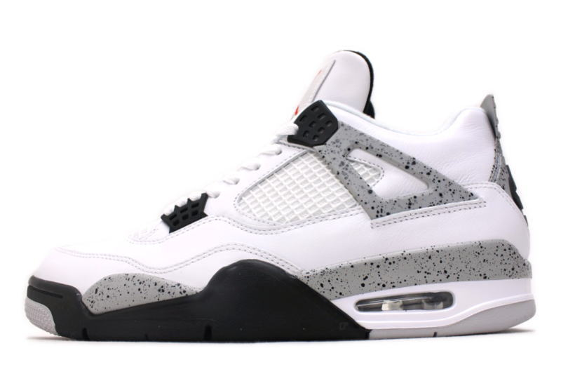 0ac41532fc31ba NIKE AIR JORDAN 4 RETRO OG CEMENT 840606-192 Nike Air Jordan 4 retro white  cement
