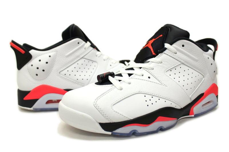 separation shoes 10bc7 a1c2a NIKE AIR JORDAN 6 RETRO LOW INFRARED 304,401-123 Nike Air Jordan 6  nostalgic low infrastructure red