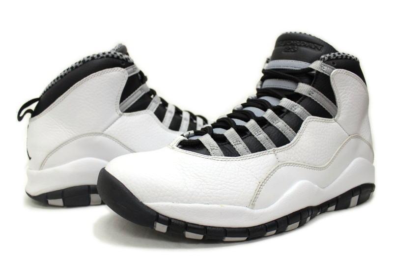 super popular 90d89 31131 NIKE AIR JORDAN 10 RETRO STEEL 310805-103 Nike Air Jordan 10 retro steel