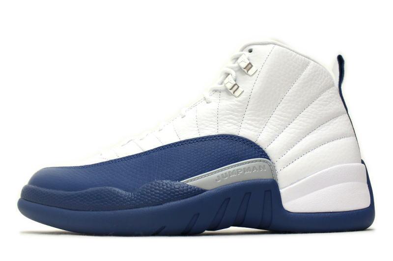 NIKE AIR JORDAN 12 RETRO FRENCH BLUE 130690-113 Nike Air Jordan 12 retro  French blue