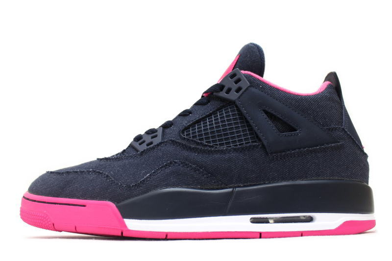 e98542132f4 NIKE AIR JORDAN 4 RETRO GG DENIM 487724-408 Nike Air Jordan 4 retro denim  ...