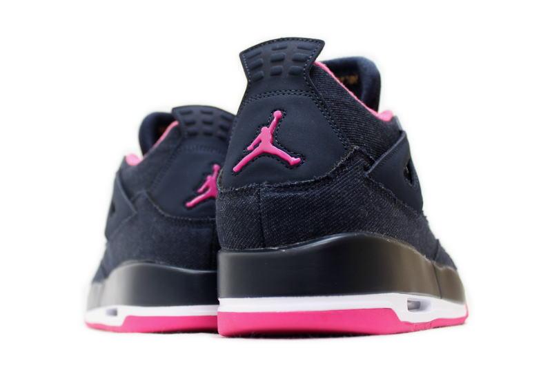 NIKE AIR JORDAN 4 RETRO GG DENIM 487724-408 Nike Air Jordan 4 retro denim