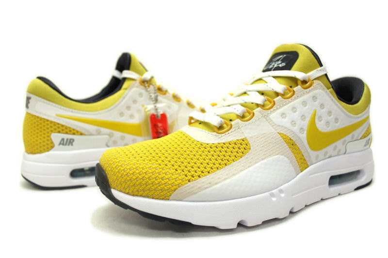the latest 0decd 1106c ... NIKE AIR MAX ZERO QS YELLOW 789695-100 Nike Air Max zero yellow ...
