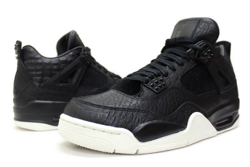 336d976d3db ... NIKE AIR JORDAN 4 PREMIUM PINNACLE PONY HAIR 819139-010 Nike Air Jordan  4 retro ...