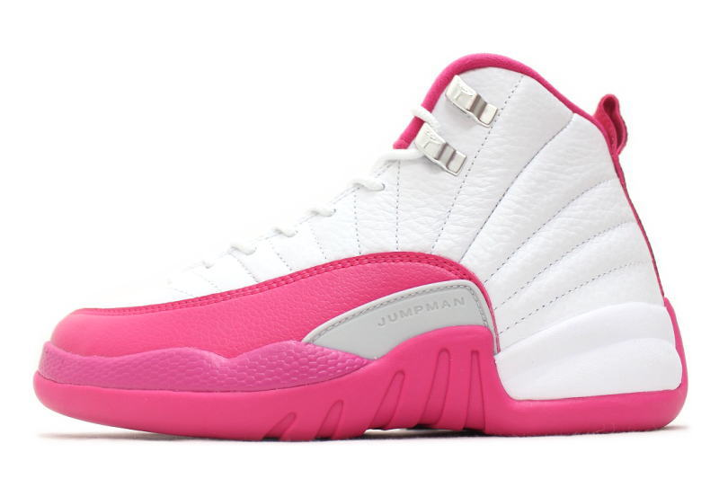 5ac696ffc81c44 NIKE AIR JORDAN 12 RETRO GG VALENTINE S DAY 510815-109 Nike Air Jordan 12  retro GS women