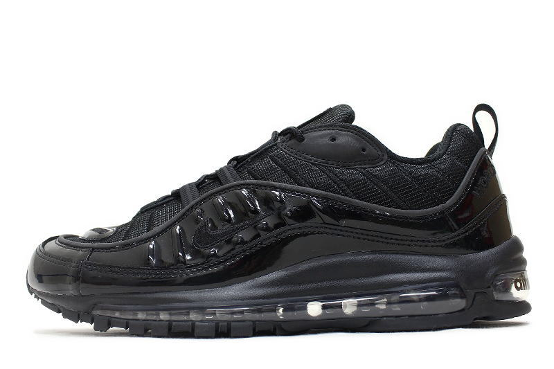 huge discount 72f24 8a18d NIKE AIR MAX 98 / SUPREME BLACK 844694-001 Nike Air Max 98 Supreme Black