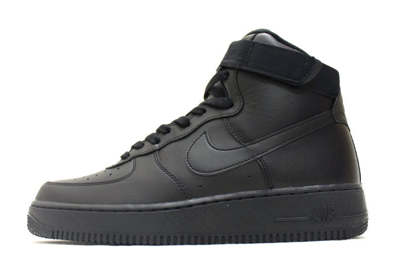 brand new 7d48d 9be04 NIKE AIR FORCE 1 HIGH 07 TRIPLE BLACK 315121-032 Nike air force one high  triple Black Black International Limited