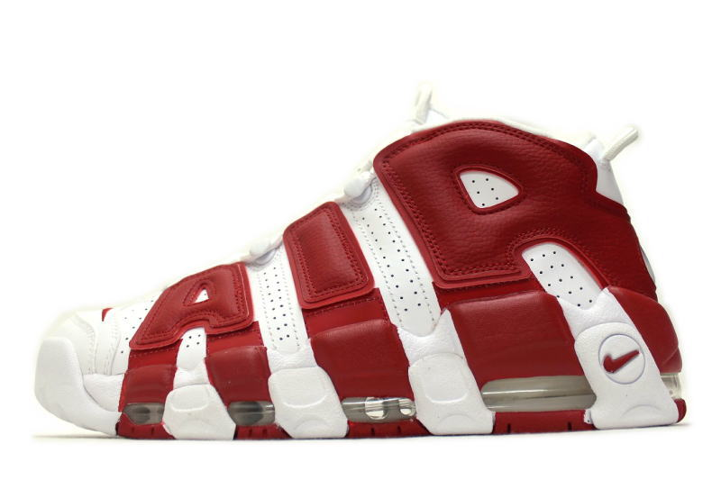 NIKE AIR MORE UPTEMPO WHITE RED 414962-100 Nike Air more uptempo White x  red overseas limited 40f2c519b