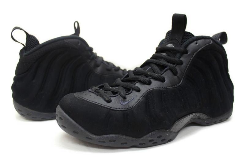 wholesale dealer 9872f c6823 NIKE AIR FOAMPOSITE ONE PRM TRIPLE BLACK 575420-006 Nike airformposit one  premium PREMIUM triple black