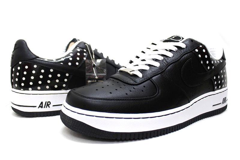 d4460ff860210c ... NIKE AIR FORCE 1 07 PREMIUM POLKA DOT PACK BLACK 316108-001 Nike force  premium ...