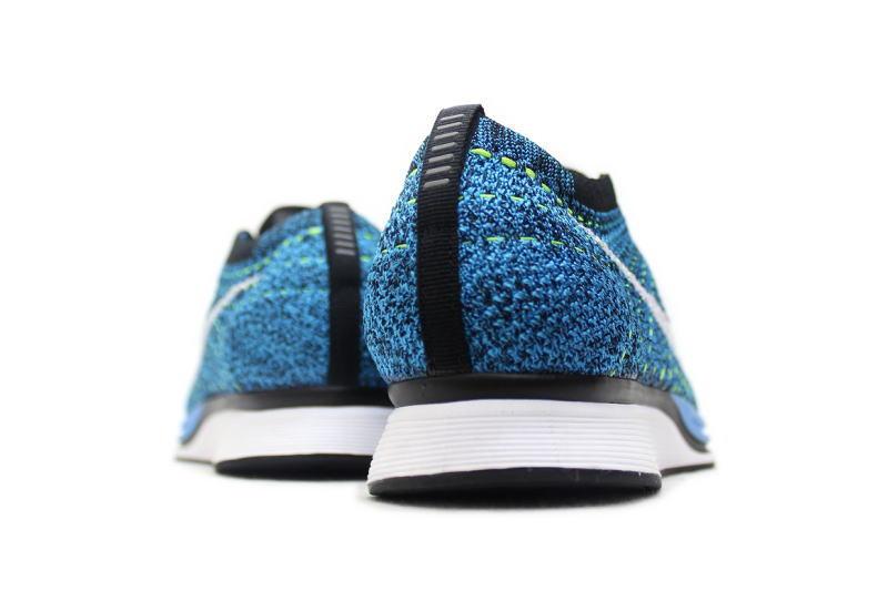 NIKE FLYKNIT RACER BLUE GLOW 526628-402 Nike Flint racer blue glow BLUE CACTUS Blue Cactus
