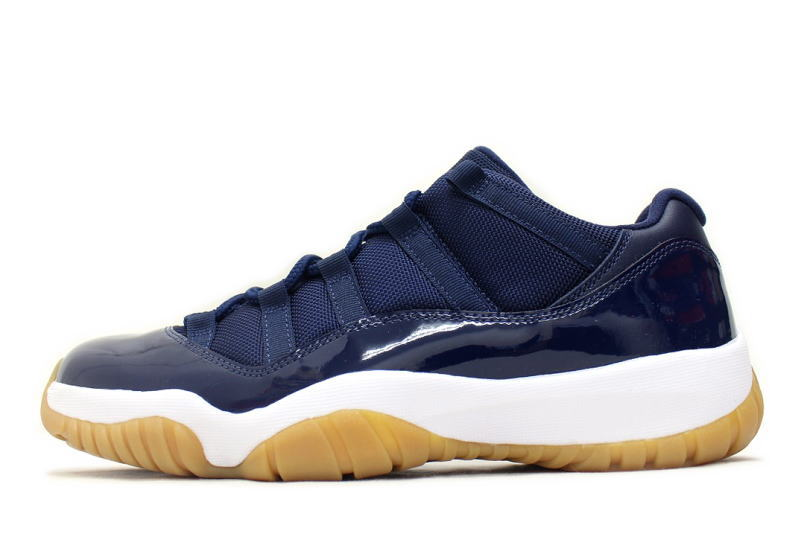 d220a7c8240d Unreleased NIKE AIR JORDAN 11 RETRO LOW NAVY GUM 528895-405 Nike Air Jordan  11 retro low Navy gum Japan