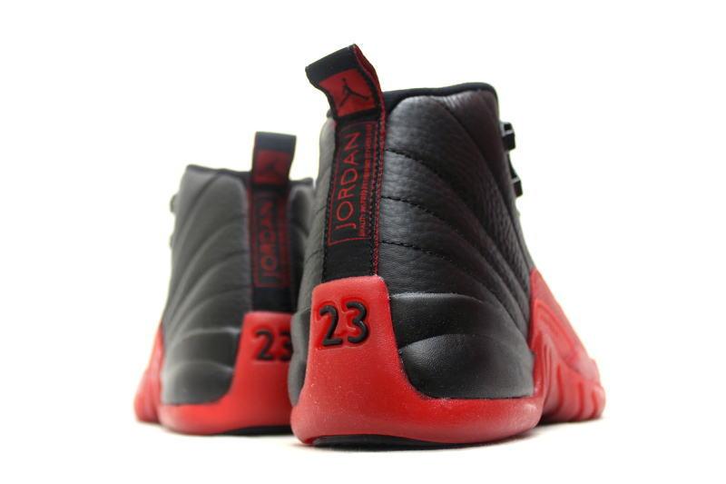 on sale d48ab 29e3a NIKE AIR JORDAN 12 RETRO BG FLU GAME 153265-002 Nike Air Jordan 12 retro GS  women s game black x Red