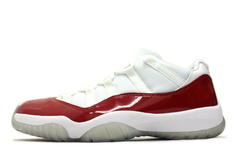 reputable site 45f7e c8929 Unreleased NIKE AIR JORDAN 11 RETRO LOW CHERRY 528895-102 Nike Air Jordan  11 retro low cherry Japan