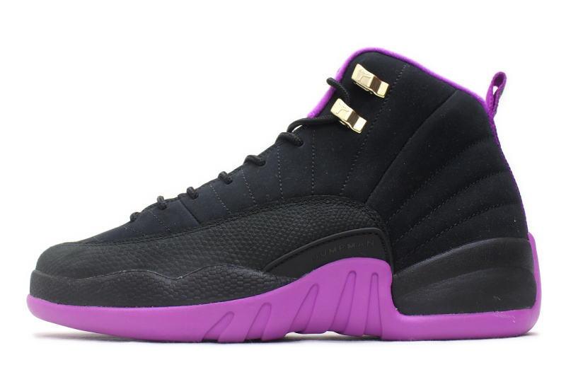 NIKE AIR JORDAN 12 RETRO GG HYPER VIOLET 510815-018 Nike Air Jordan 12  retro GS hyper violet ea7d7c316