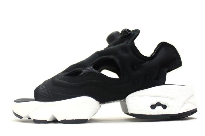 bd0a15bffc1c Reebok INSTA PUMP FURY SANDAL BLACK V69436 Reebok pump fury Sandals black