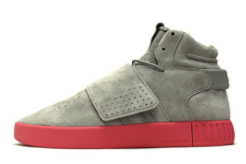 62dade9a37ed adidas TUBULAR INVADER STRAP SOLID GREY BA7878 adidas tubular space invaders  straps solid gray