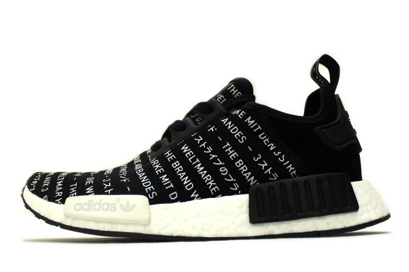 c0b438efa25b4 adidas NMD R1 3 STRIPE BLACKOUT S76519 adidas ENAM die 3 stripe black out