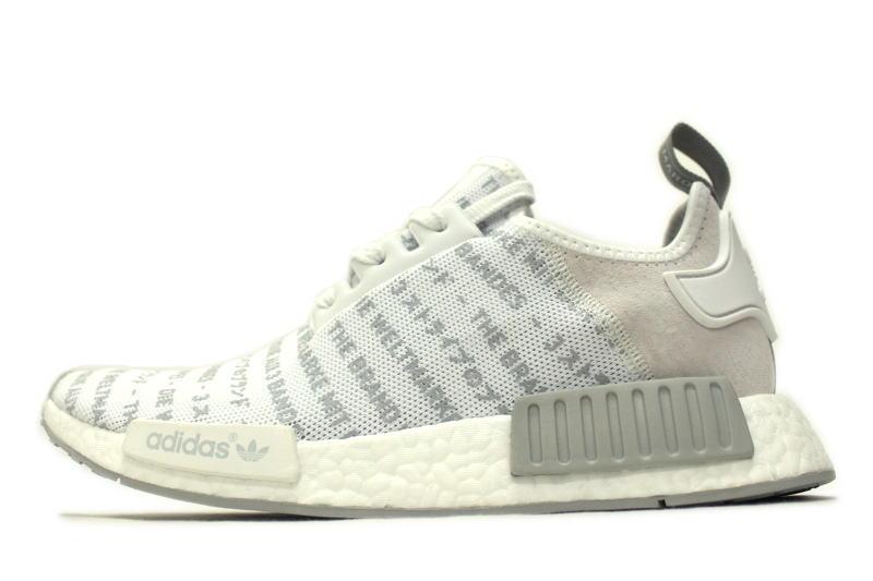 adidas NMD R1 3 STRIPE WHITEOUT S76518 adidas ENAM die 3 stripe white out