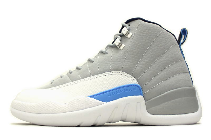 2f71191d9067 NIKE AIR JORDAN 12 RETRO UNC 130690-007 Nike Air Jordan 12 retro North  Carolina WOLF GREY Japan not released