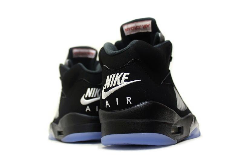 huge discount 7de93 e277a NIKE AIR JORDAN 5 RETRO OG BLACK METALLIC SILVER 845035-003 Nike Air Jordan  5 retro black   silver