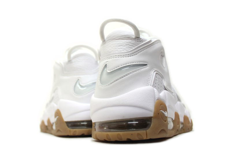 47070d49b NIKE AIR MORE UPTEMPO WHITE GUM 414962-103 Nike Air more uptempo white    gum overseas limited