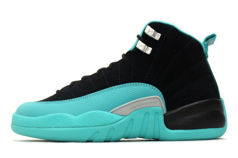 competitive price de780 524b9 NIKE AIR JORDAN 12 RETRO GG HYPER JADE 510815-017 hyper jade GS Womens,  Nike Air Jordan 12 retro