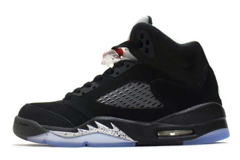 sports shoes 853ca d5033 NIKE AIR JORDAN 5 RETRO OG BG BLACK METALLIC SILVER 845036-003 Nike Air  Jordan 5 retro Black   Silver ladies GS international limited