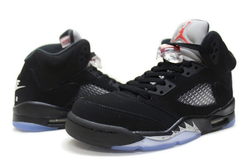 sports shoes 824d8 f47d2 NIKE AIR JORDAN 5 RETRO OG BG BLACK METALLIC SILVER 845036-003 Nike Air  Jordan 5 retro Black   Silver ladies GS international limited