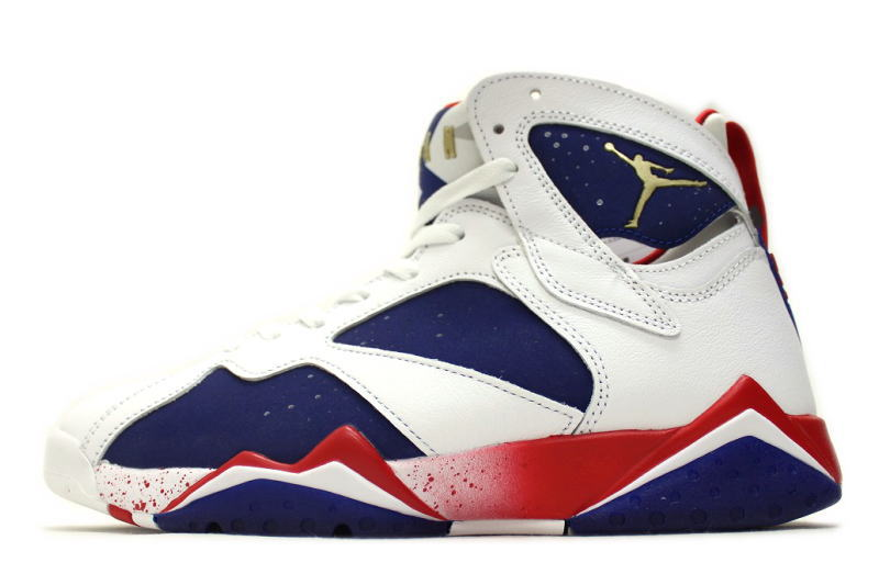 b5882ed186520d auc-soleaddict  NIKE AIR JORDAN 7 RETRO TINKER ALTERNATE OLYMPIC 304775-123  Nike Air Jordan 7 retro tinker alternate Olympic Games